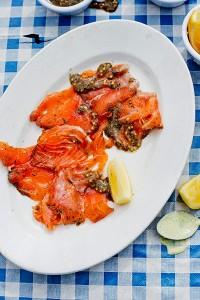 SeafoodCabin_JamesMurphy_SmokedSalmonGravadlax