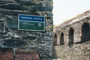 Skipness-Castle-Sign