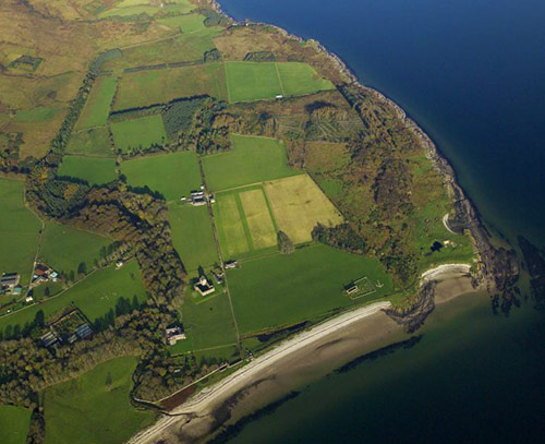 Skipness Estate from above